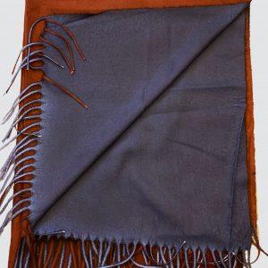 Dark Brown Woolen Scarf