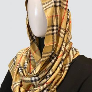 Classic Golden Cashmere Scarf