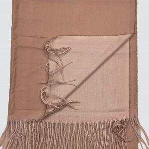 Sandal Brown Woolen Scarf