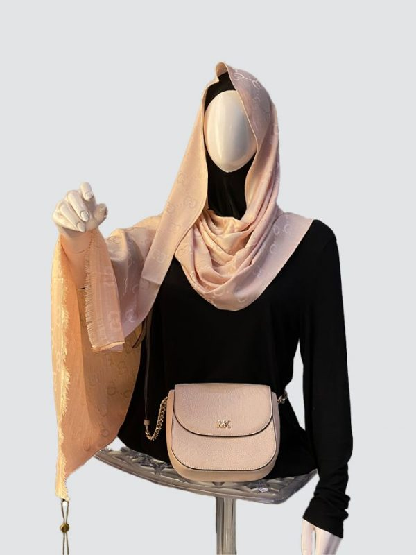 Baby Pink Silky Cashmere Scarf