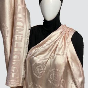 PnL Oyster Pink Silky Cashmere Scarf
