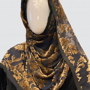 black palachi scarf