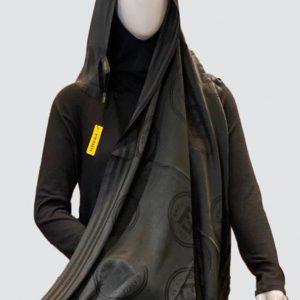PnL Black Silky Cashmere Scarf