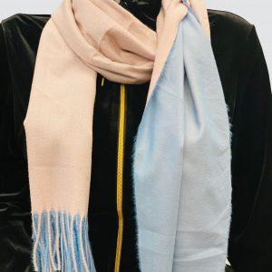 Sandy Blue Woolen Scarf