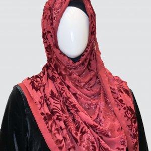 maroon palachi scarf