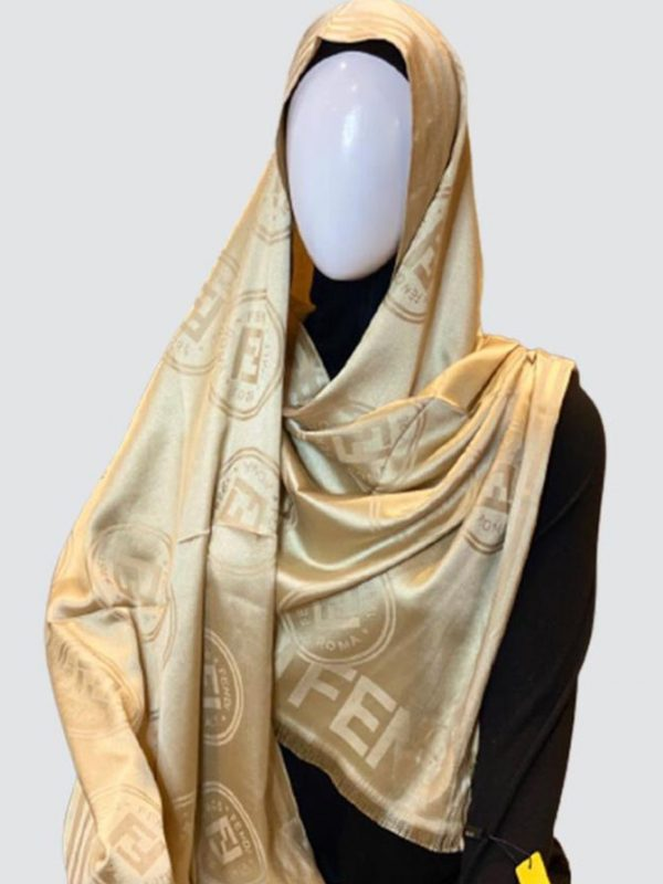 PnL Gold Silky Cashmere Scarf