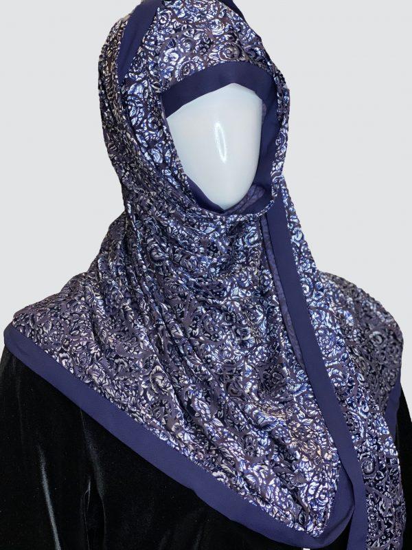 blue palachi scarf