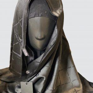 Dark Grey Silky Cashmere Scarf