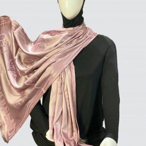 PnL Tea Pink Silky Cashmere Scarf