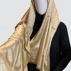 Golden Silky Cashmere Scarf