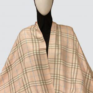 Cameo Checks Woolen scarf