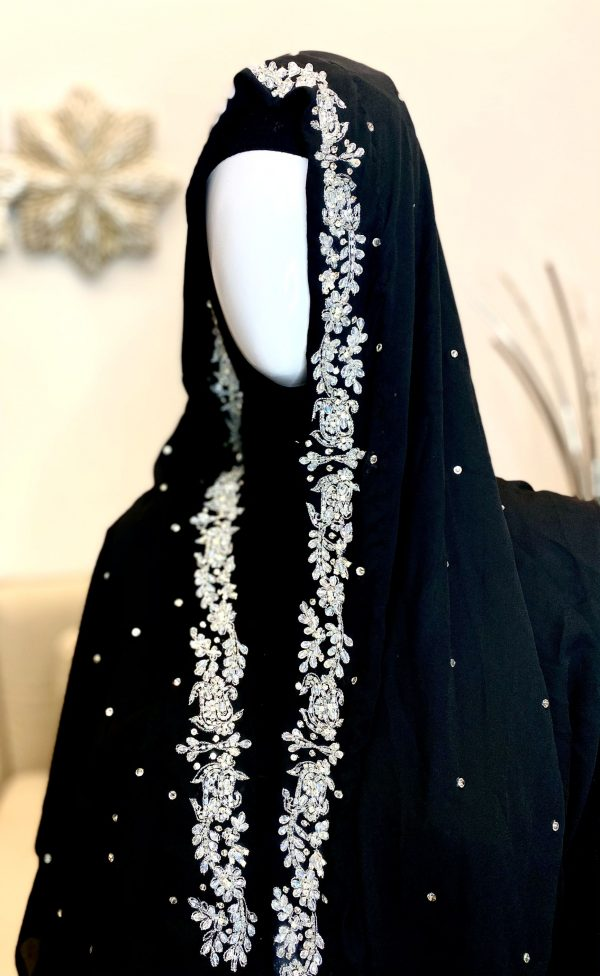 handmade embroidered scarf